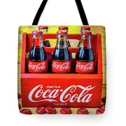 Six Pack Of Cokes Tote Bag