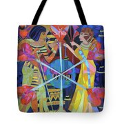 Six Phases Of The Eclipse Of The Heart Tote Bag