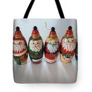 Six Russian Santas Tote Bag
