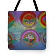 Six Visions Of Heaven Tote Bag