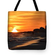 Sizzling Sunset Tote Bag