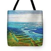 Skaftafell Floodplain Tote Bag