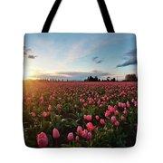 Skagit Sunset Field Tote Bag