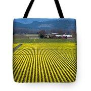 Skagit Valley In Springtime Tote Bag