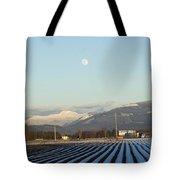 Skagit Winter Moon Tote Bag