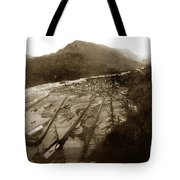 Skaguway, Alaska View From Hill Over Looking 1898 Tote Bag