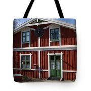 Skansen Building Tote Bag