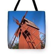 Skansen Windmill Tote Bag