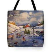 Winter Fun  Part 2  Tote Bag