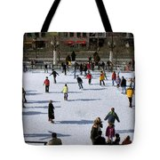 Skating Tote Bag