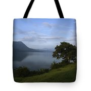 Skc 3959 Overlooking The Lake Tote Bag