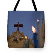 Skc 5471 Light Of Worship Tote Bag