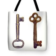 Skeleton Keys Tote Bag