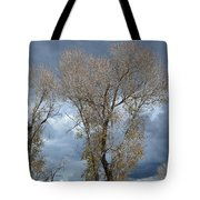 Skeleton Trees Tote Bag