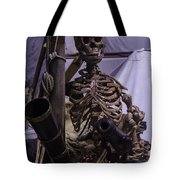 Skeleton With Bow Canon Tote Bag