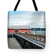 Skeletons From The Ceiling Tote Bag