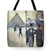 Sketch For Paris A Rainy Day Tote Bag