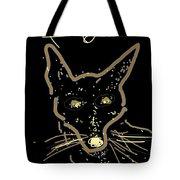 Sketch Of Fox By Kathy Barney Tote Bag