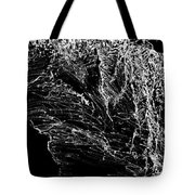 Sketchbook Tree B-w Tote Bag
