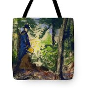 Sketchers In The Woods Tote Bag