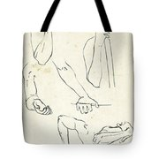 Sketches Of Arms Tote Bag