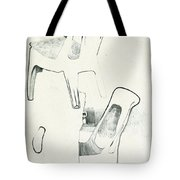 Sketches Of Plastic Chairs 2 Tote Bag