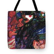 Sketchy Goddess Cleophatta Tote Bag