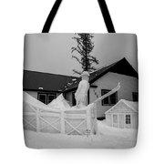 Ski Jump Tote Bag