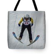 Ski Jumper 3 Tote Bag