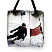 Ski Racer 2 Tote Bag