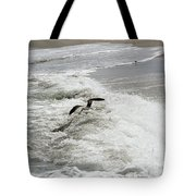 Skimmer And Waves Tote Bag