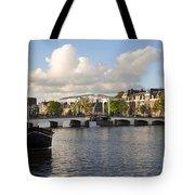 Skinny Bridge In Amsterdam Tote Bag