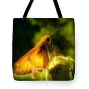 Skipper Butterfly With Sun Shine Tote Bag