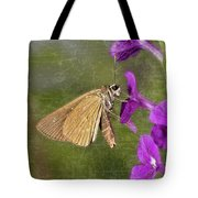 Skipper Butterly Sipping Nectar Tote Bag