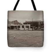 Skipton Boat House Tote Bag
