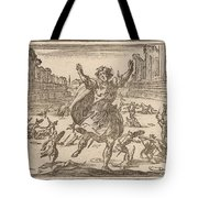Skirmish In A Roman Circus Tote Bag