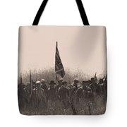 Skirmish Line Tote Bag