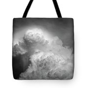 Skirting The Storm Tote Bag