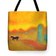 Skittish Tote Bag