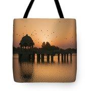 Skn 1372 Sunrise Flight Tote Bag
