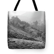 Skn 6521 Nature's Bounty B/w Tote Bag