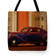 Skoda Popular Sport Monte Carlo 1935 Painting Tote Bag