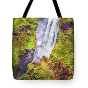 Skogafoss Waterfall #10 Tote Bag