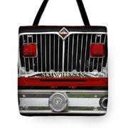 Skowhegan Maine Firetruck Grill Tote Bag