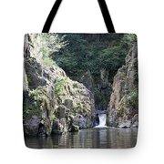 Skryje Waterfall And Pond Tote Bag
