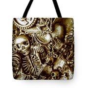 Skull And Cross Bone Treasure Tote Bag