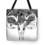 Skull Art Tote Bag