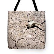 Skull In Desert 2 Tote Bag