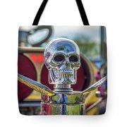 Skull Ornament Tote Bag by Tony Baca