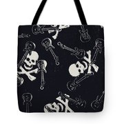 Skull Rockers Art Tote Bag